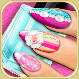 Nail Makeover 3D Beauty Salon: DIY Fancy Nails Spa Manicure