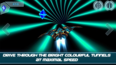 Speed Tube Racing 3D screenshot one