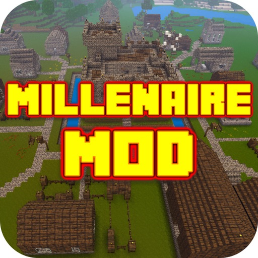 MILLENAIRE MOD FOR MINECRAFT GAME PC EDITION - PLUS POCKET GUIDE FOR MCPC