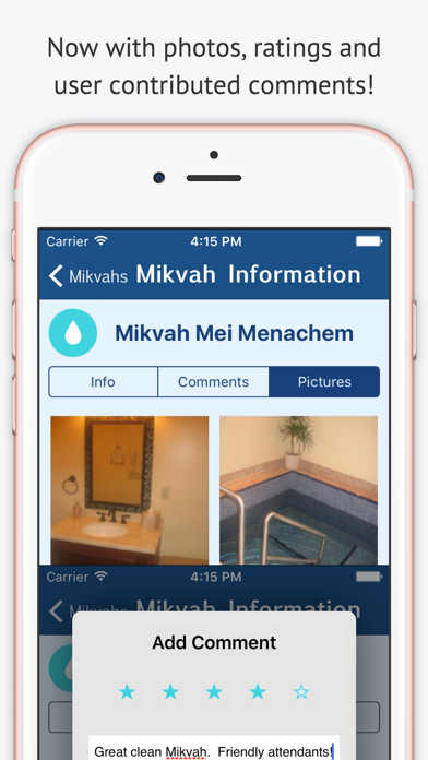 Mikvah מקוה - Jewish Family Purity Screenshot 3