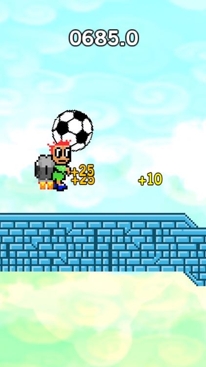 Jetpack Dribble Hero - endless soccer ball kick screenshot-4