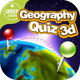 GEO GLOBE QUIZ 3D - Free World City Geography Quizz App