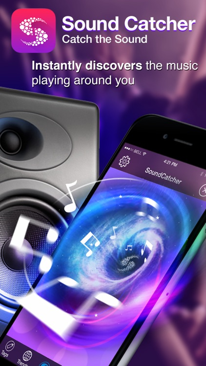 Sound Catcher - instantly identify songs playing around you