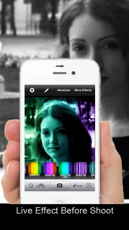AceCam Stripes - Photo Effect for Instagram screenshot-3