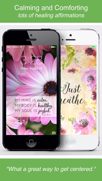 Every Day Spirit® Lock Screens - Inspirational Wallpaper / Wisdom Quotes / Beautiful Backgrounds / Motivational Wallpapers