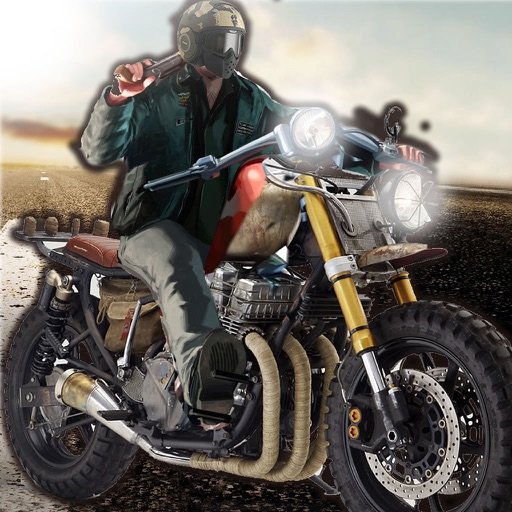 Fast Motorcycle Hero - Highway Ride Amazing