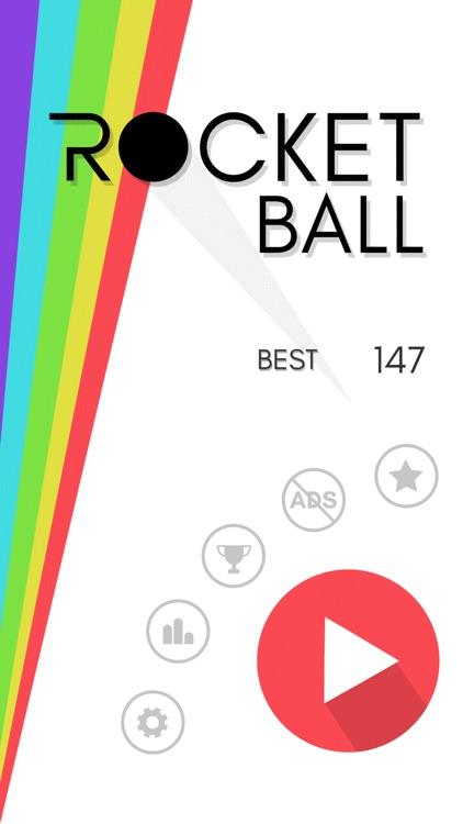 Rocket Ball - Endless Jump screenshot-3