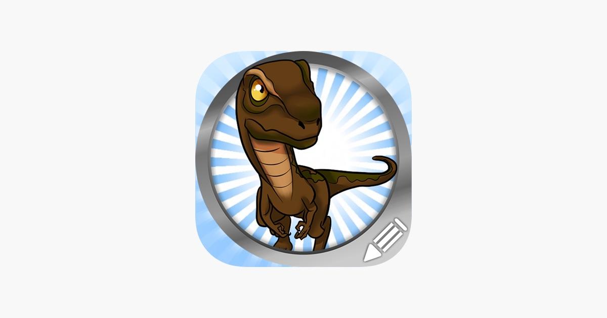 Dibujar y pintar Los dinosaurios del Jurásico en App Store