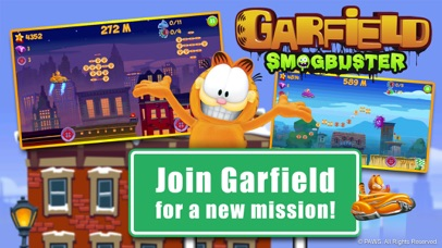 Garfield Smogbuster screenshot 1