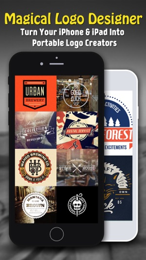 Vintage Design - Logo Maker & Poster Creator Screenshot
