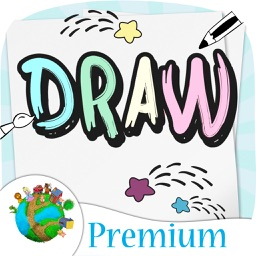 Draw and paint your sketch - for preschool children – Premium