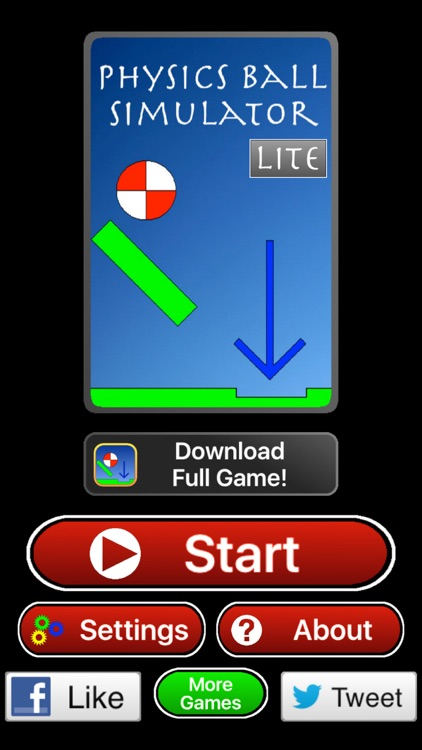 Physics Ball Simulator Lite - A game to train your logical thinking screenshot-2
