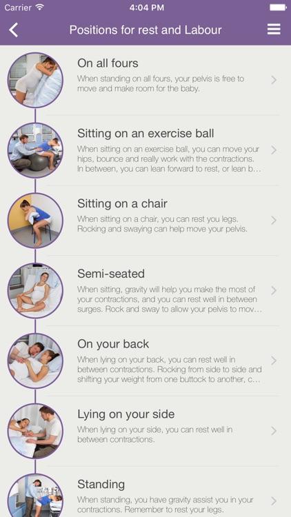 Birth Positions - an active choice