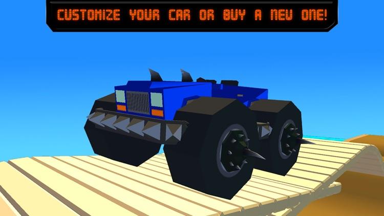 Pixel Car Fighting Arena 3D screenshot-3