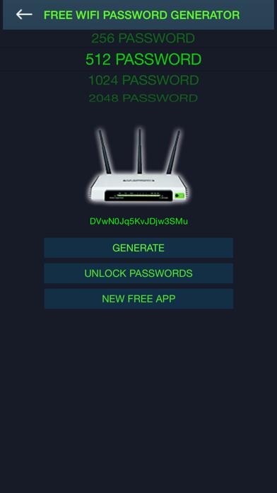 無料のWiFiのパスワードジェネレータのおすすめ画像1