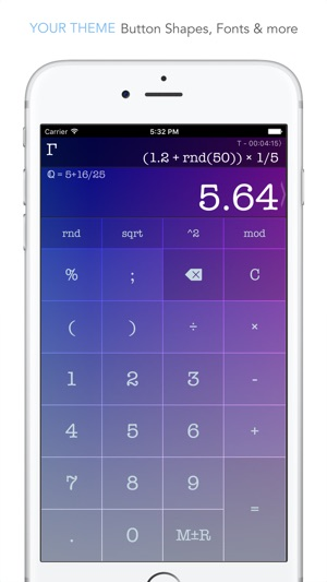 CALC Swift Screenshot