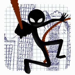 A Superhero Stickman Adventure - Swinging n Flying Through The City Streets