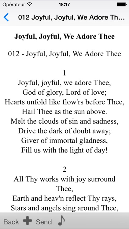 SDA Hymnals With Tunes screenshot-4