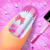 时尚指甲设计 - 女孩游戏: 精彩的美甲沙龙对于现代女孩