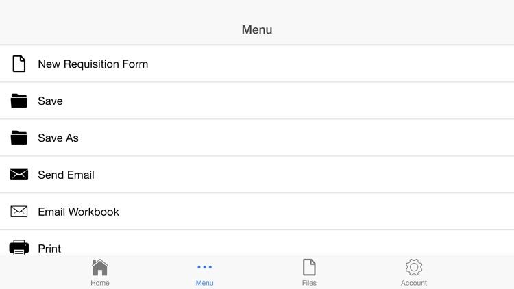 Requisition Form screenshot-3