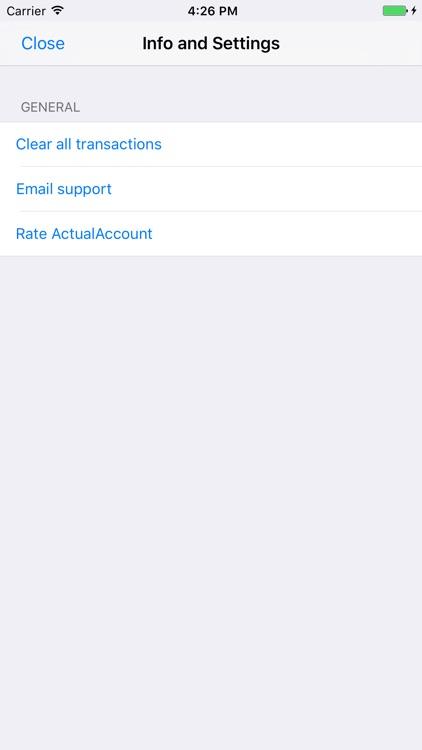 ActualAccount screenshot-3