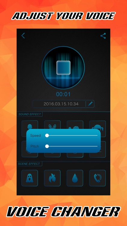 Voice Changer FREE - Sound Record.er & Audio Play.er with Fun.ny Effect.s screenshot-3