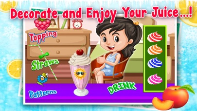 Frozen Ice Juice Shop - Refreshing Kids With Exciting Flavors of Slush & Frozen Juices screenshot four