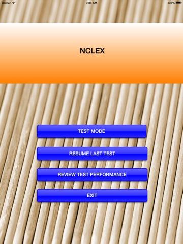 NCLEX Nursing 500 Questions National Council Licensure Exam-Registered Nurse) Screenshots
