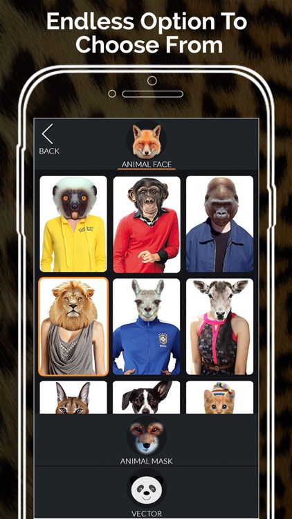 Animal Face Morph - Let Your Wild Side Out