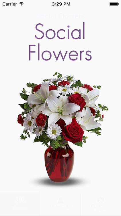 Social Flowers: Flower Delivery Without Address