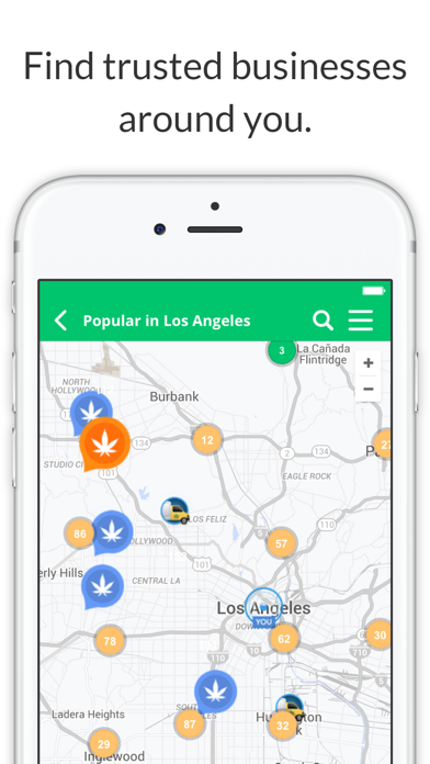 Where's Weed Marijuana Strains & Dispensary Maps screenshot two