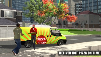 Pizza Delivery Van Simulator - City & Offroad Driving