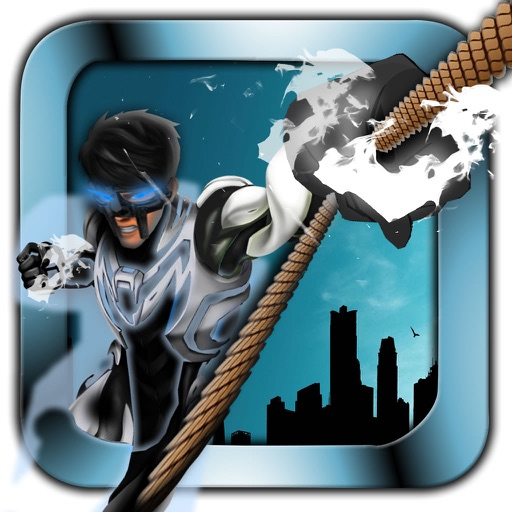 Metal Man Rope - Jump and Fly to Save the City Streets