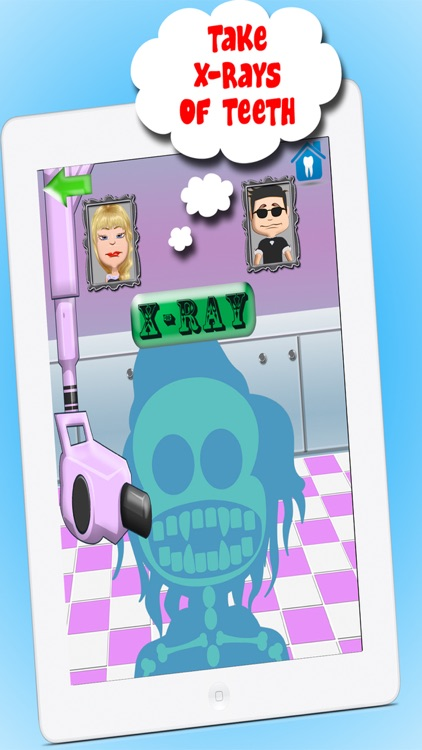 Crazy Doctor And Dentist Salon Games For Kids FREE screenshot-4