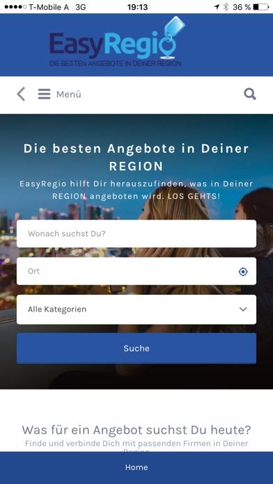 EasyRegio - die besten Angebote in Deiner RegionScreenshot von 2