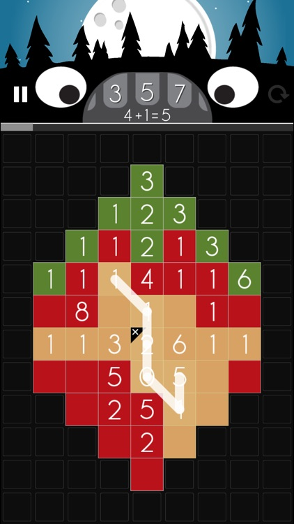 The Unknown Number: Puzzle Math Arcade Game screenshot-3