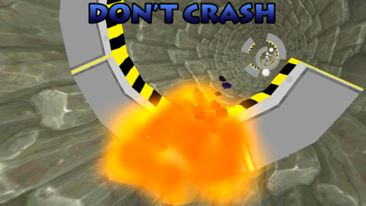 3D Star-Wars Tunnel Twist - An Air-Craft Universe Guardians Force Hovercraft screenshot three