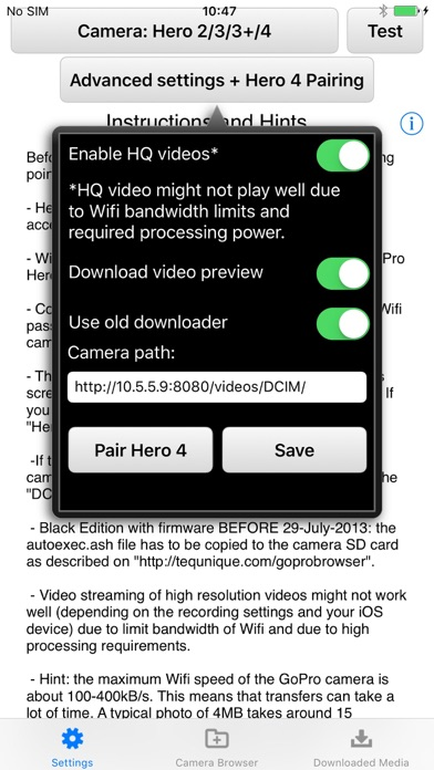 Photo And Video Browser For Gopro Hero Cameras Wifi App Price Drops