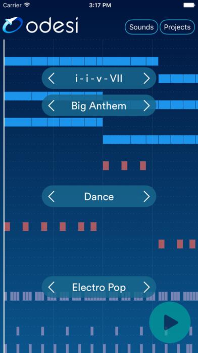 Odesi Chords - Create Rhythms, Basslines, Chord Progressionsのおすすめ画像1