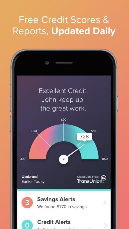 WalletHub – Free Credit Report, Score & Monitoring screenshot-0