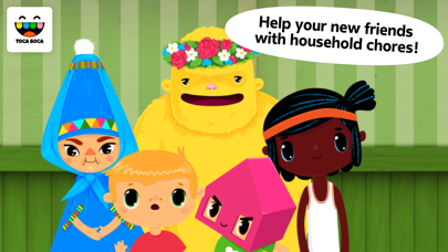 Toca House review screenshots