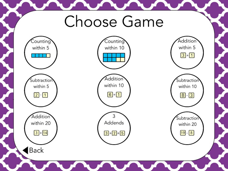 Addition & Subtraction Boxes: School Version