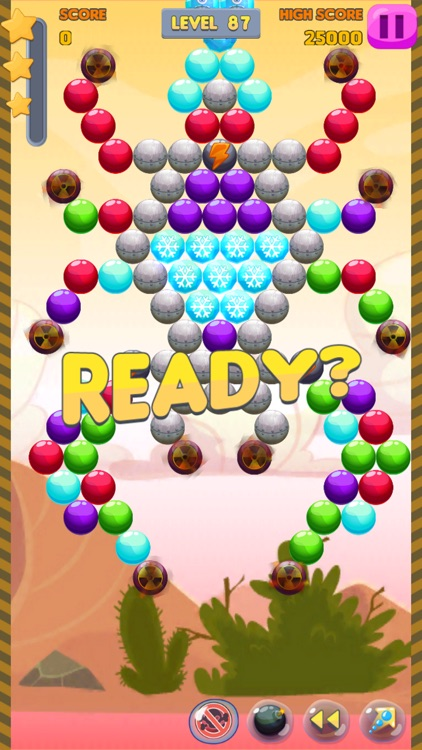 Bubble Shooter: Monster Quest