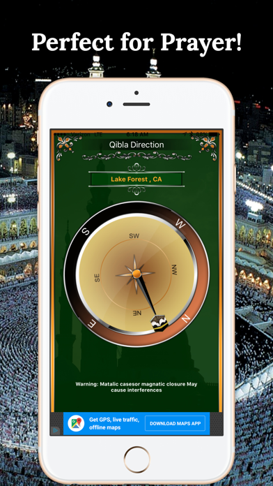 Qibla Compass-Find Direction screenshot two