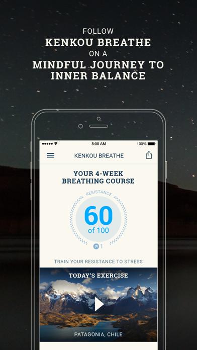 Screenshot #1 pour Breathe Pro