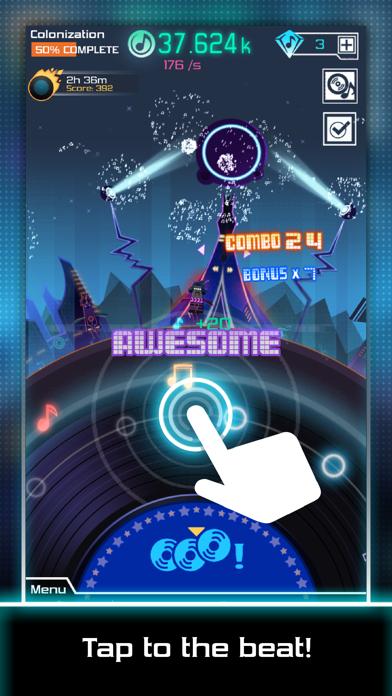Groove Galaxy screenshot three