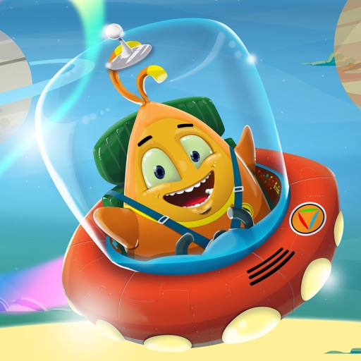 Lars from Mars - Collection of cool little space games for your toddler