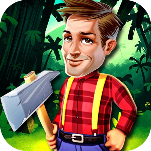 The Woodman Land - Tree cutter game for toddler