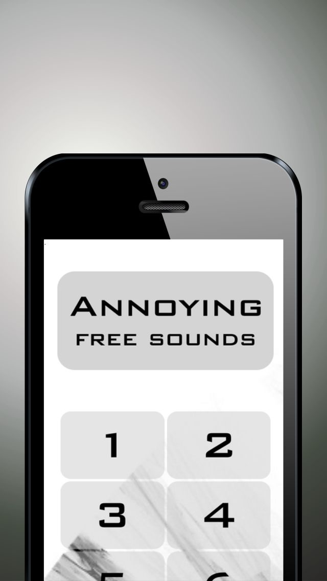 Annoying troublesome bothering  music and sounds free screenshot one