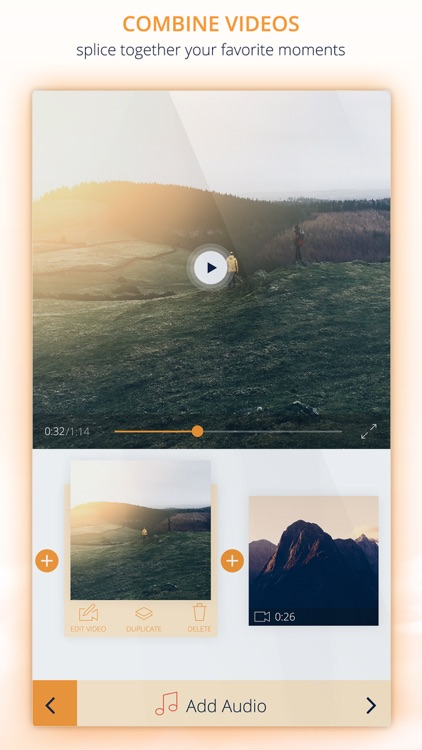 InstaVideo Editor - Trim & Add music to videos screenshot-2
